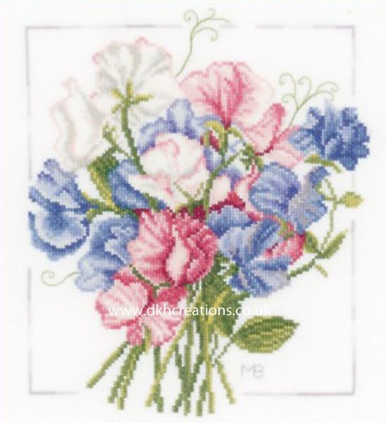 Colourful Bouquet Cross Stitch Kit